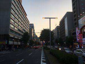 徳川宗春道中&世界コスプレサミット錦通りレッドカーペットの会場