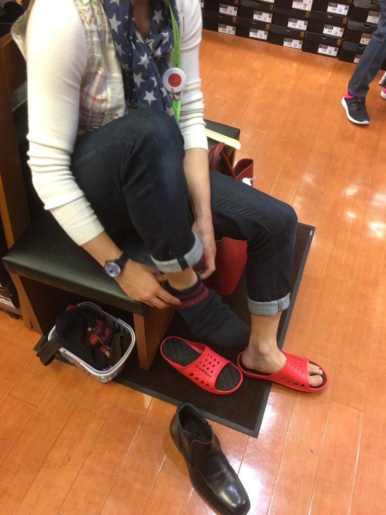 コスプレ用の靴を購入